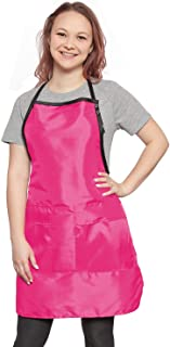 Apron (Covered Pockets) (Pink)