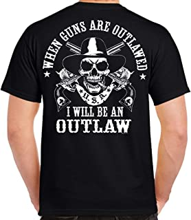 Biker Life USA I Will Be an Outlaw T-Shirt