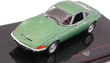 NEW IXO Model CLC318N Opel GT 1969 Met.Green 1:43 MODELLINO Die Cast Model