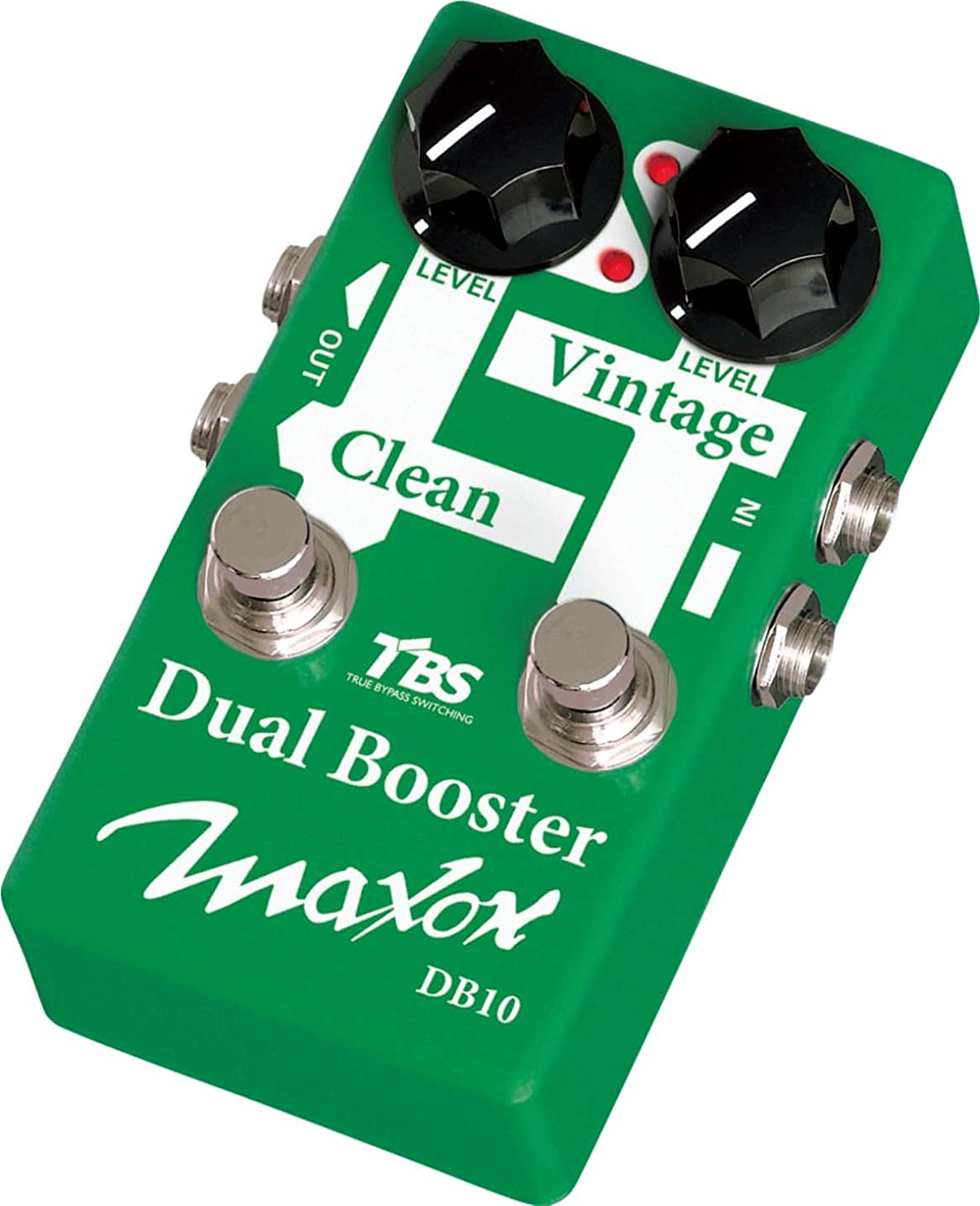 電気陽性天使ふざけたMaxon ギターエフェクター Dual Booster DB10