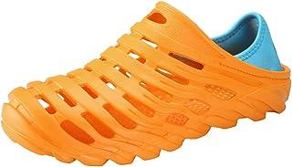 Garden Clogs Shoes Men's Ultralight Hollow Summer Aqua Breathable Comfort Slippers Outdoor Unisex Water Shoes