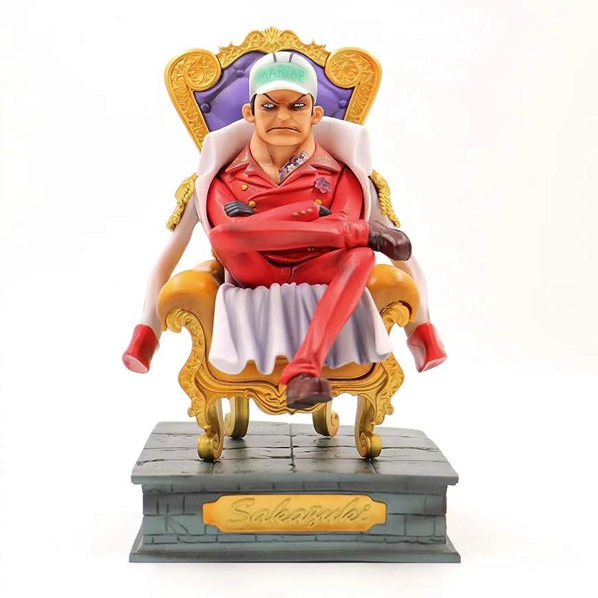 ナイトスポット静めるナチュラル座る位置さかすき、PVC製玩具コレクション彫像キャラクター工芸品、彫像玩具模型装飾品、アニメワンピースモデル(23cm) SHWSM