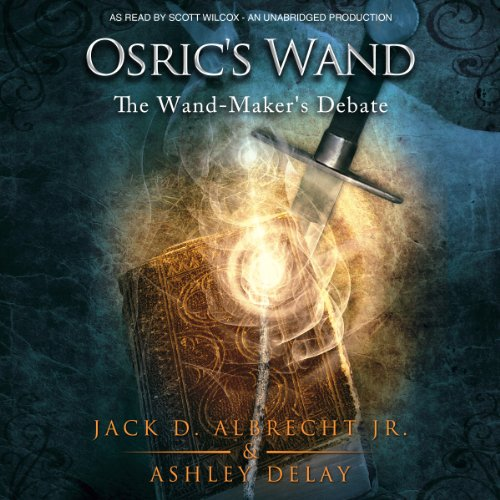 Osric's Wand audiobook cover art