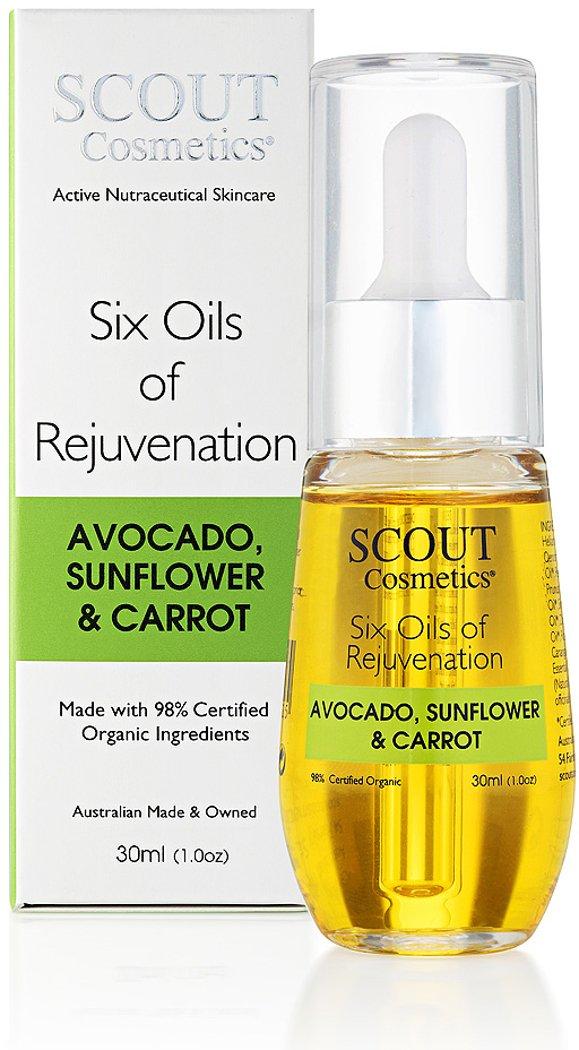 SCOUT Cosmetics 6 Oils of Rejuvenation Super sale Facial Anti-aging Oil Max 59% OFF