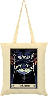 Deadly Tarot Felis - The Empress Tote Bag Cream 38 x 42cm