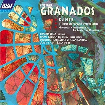 Granados: Dante - 5 Piezas Sobre Cantos Populares Espanoles