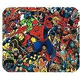 LeonardCustom- Rectángulo Personalizado Alfombrilla de Goma Antideslizante Alfombrilla de ratón para Juegos/Alfombrilla- Marvel Superhero Spider-Man -LCMPV46676