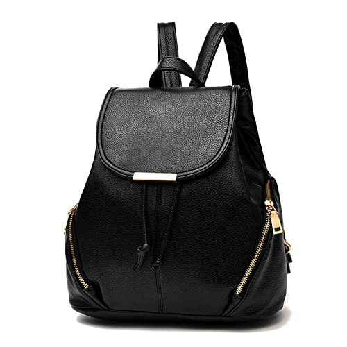 87edecff2e Z-joyee Casual Purse Fashion School Leather Backpack Shoulder Bag Mini  Backpack for Women