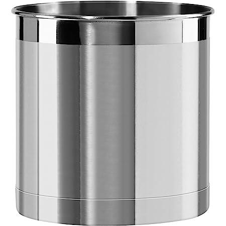 Stainless Steel Utensil Holder Container 10x12.5cm Flatware Caddy Utopia Kitchen