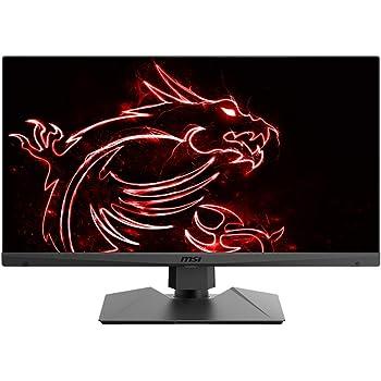 "MSI Non-Glare with Narrow Bezel Screen 165Hz 1ms Height Adjustment AMD Freesync HDMI/DP/USB HDR Ready 2560 X 1440 QHD 27"" Gaming Monitor (Optix MAG272QR), Black"