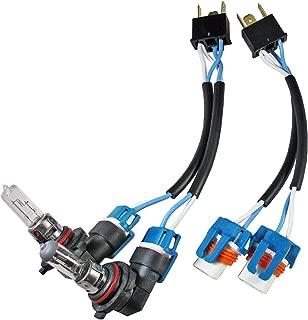 H4 to 9006 9005 Headlight Bulb Conversion Ceramic Plug n Play Adapter Sockets 100w (ONE PAIR) JDM EDM