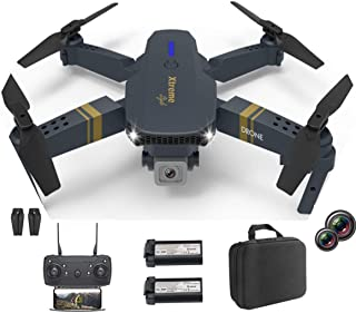Sponsored Ad - XTREME STYLE FPV Mini Drone with Dual Camera 4K UHD .50x D-Zoom, 2 Batteries for 30 Minutes Flight Time. Fo...