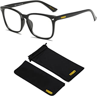 Ferro Blue Light Blocking, Anti UV Ray Computer Glasses Unisex Adults, for Reading/Gaming/Screens Anti Eyestrain, Insomnia...
