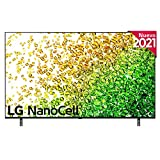 LG NanoCell 50NANO85-ALEXA 2021-Smart TV 4K UHD 126 cm (50') con Inteligencia Artificial, Procesador Inteligente α7 Gen4, Deep Learning, 100% HDR, Dolby ATMOS, HDMI 2.1, USB 2.0, Bluetooth 5.0, WiFi