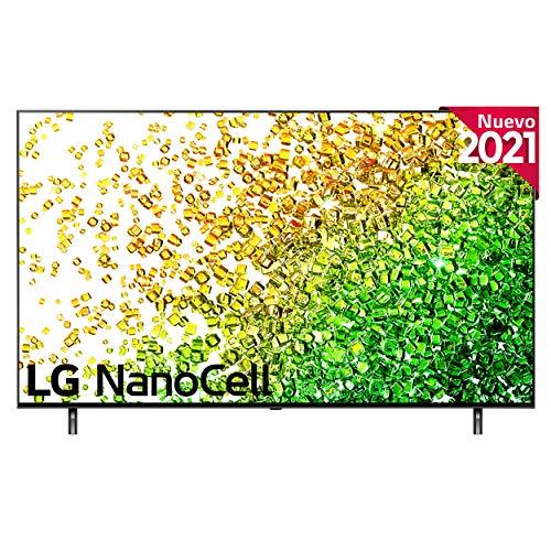 "LG NanoCell 50NANO85-ALEXA 2021-Smart TV 4K UHD 126 cm (50"") con Inteligencia Artificial, Procesador Inteligente α7 Gen4, Deep Learning, 100% HDR, Dolby ATMOS, HDMI 2.1, USB 2.0, Bluetooth 5.0, WiFi"