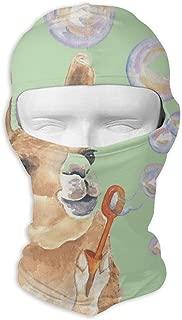 Gomop Ski Cap Llama Blowing Alpaca Full Face Mask Hunting Cycling Masked Hoods Hat