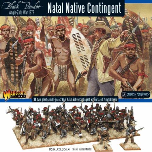 Angelo-Zulu-Wars, Natal Native Contingent - Tabletop Figuren