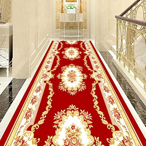 ZQIAN Alfombra Dormitorio 1.2x3m Antideslizante Impermeable Rugs Runner Muy Robusta, para Salón, Pasillo, Pasaje, Habitacion, C