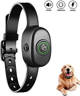 ME SUGER Bark Collar - Rechargeable Anti Barking Control Dog Shock Collar, No bark Collars Sound Warning Vibration Electric Stimulation, Adjustable Stop Barking Collar for Small Medium Large Dogs