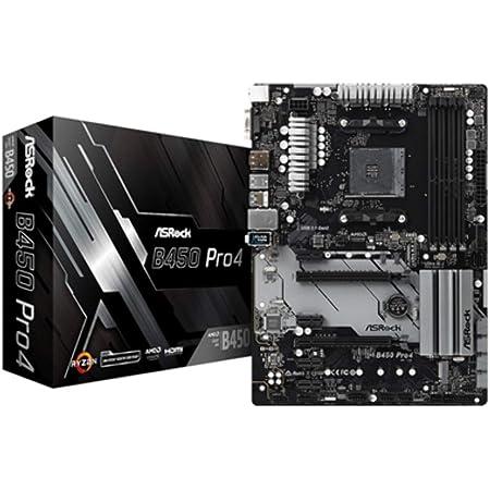 Mb Asrock B450 Pro4 Am4 Atx D Sub Hdmi Dp Ddr4 Retail Computer Zubehör