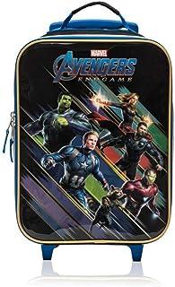 Sponsored Ad - Marvel Avengers End Game Soft Side Trolley Luggage Case for Kids - 16 Inch [Black]