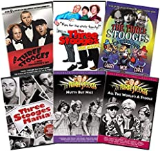 Ultimate Three Stooges Collection: The Three Stooges: The Movie/Three Stooges Cartoons/Three Stooges Mania/Nutty But Nice/All the World's a Stooge/Extreme Rarities/Greatest Routines/Live & Hilarious/S