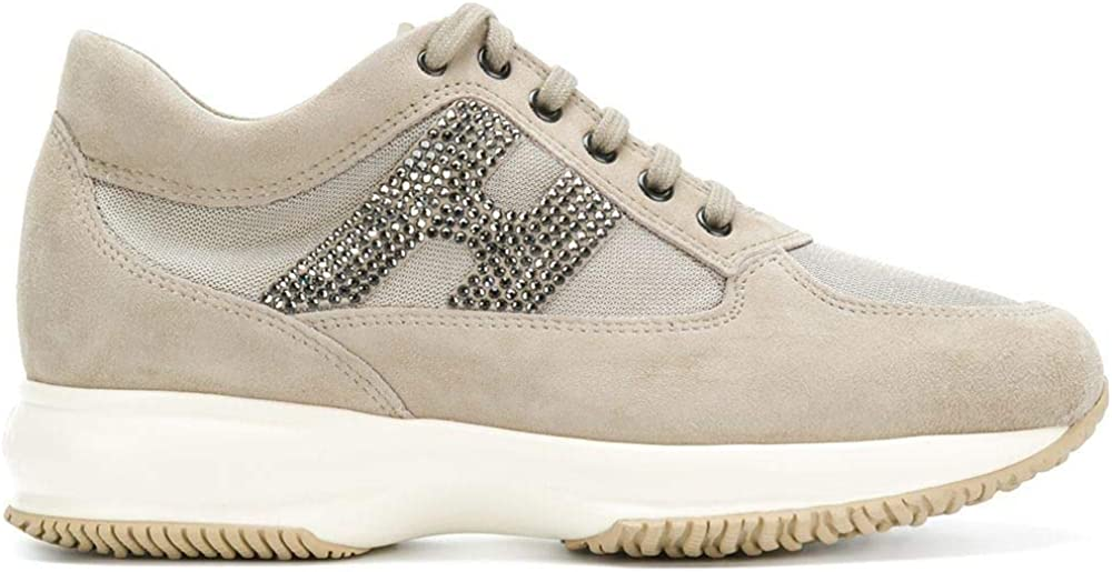 Hogan, sneakers per donna,in camoscio HXW00N02011FI70KL4