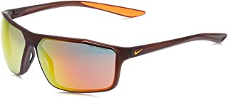 نظارة شمسية للرجال من نايك، لون برتقالي، 65 ملم نايك ويند ستورم ام سي دبليو 4