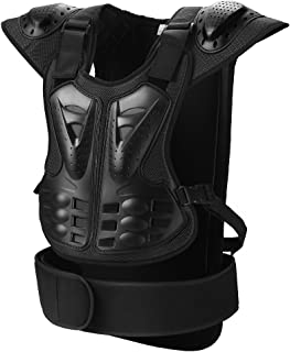 Pellor Motorcycle Protective Vest, Sport Motorcross Motorcycling Skiing Body Armour Vest Spine Protective Gear