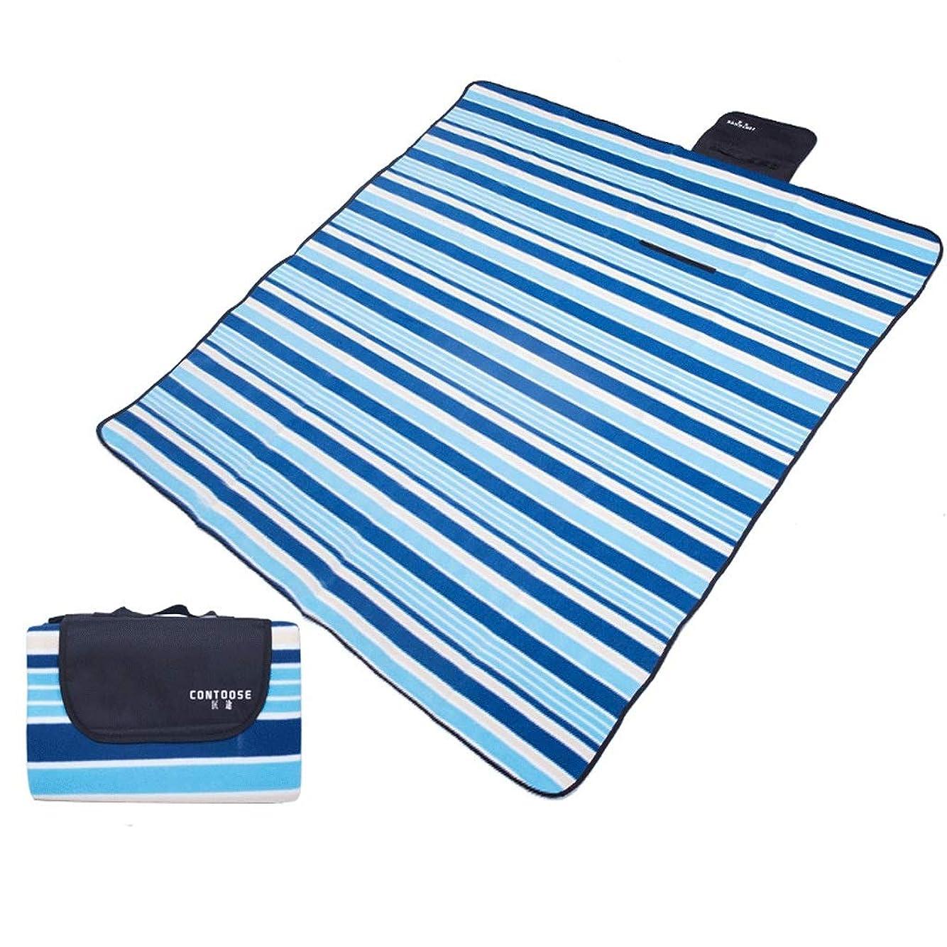 キモいこんにちは竜巻肌にやさしい ピクニック毛布高密度スエードピクニックマット折りたたみ防湿ピクニック毛布厚い春ツアー/ピクニックバーベキュー毛布 通気性 (Color : A)