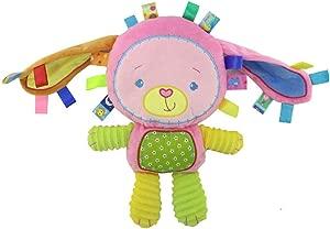 Music Bell Clode  1PC Cute Cartoon Musical Soft Plush Baby Hand Bells Educational Animal Developmental Music Bell Children s Toys  Style