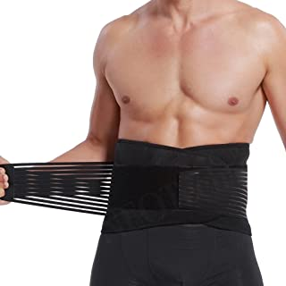 Neotech Care Lumbar Support with Double Banded Strong Compression Pull Straps, Breathable..