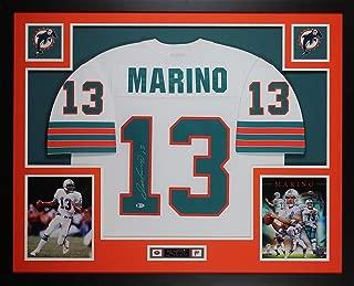 dan marino signed jersey framed