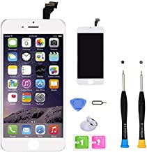 CLWHJ Premium Screen Replacement Compatible with iPhone 6 Plus 5.5 inch Full Assembly -LCD Touch Digitizer Display Glass A...