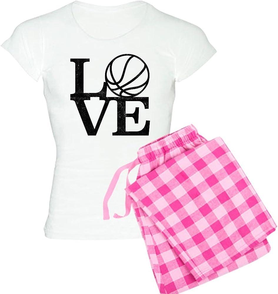 CafePress Mail order cheap Award-winning store Love Basketball Women's PJs