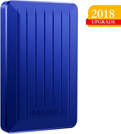 160GB Portable External Hard Drive- 2.5 Inch External Hard Drives for Laptop,Desktop,Xbox one,PS4,Wii U,MacBook,Chromebook (160GB, Blue)