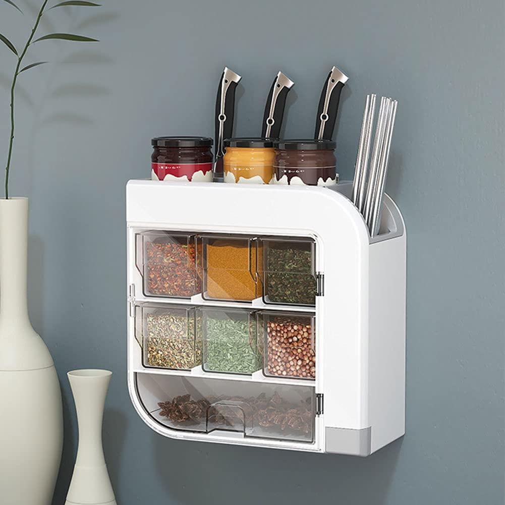 Multi-Function Spice Box Wall-M Sales results Challenge the lowest price No. 1 Rack