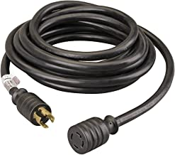 Reliance Controls Corporation PC3040 30-Amp, 40-Foot Generator Power Cord for Generators Up to 7,500 Running Watts