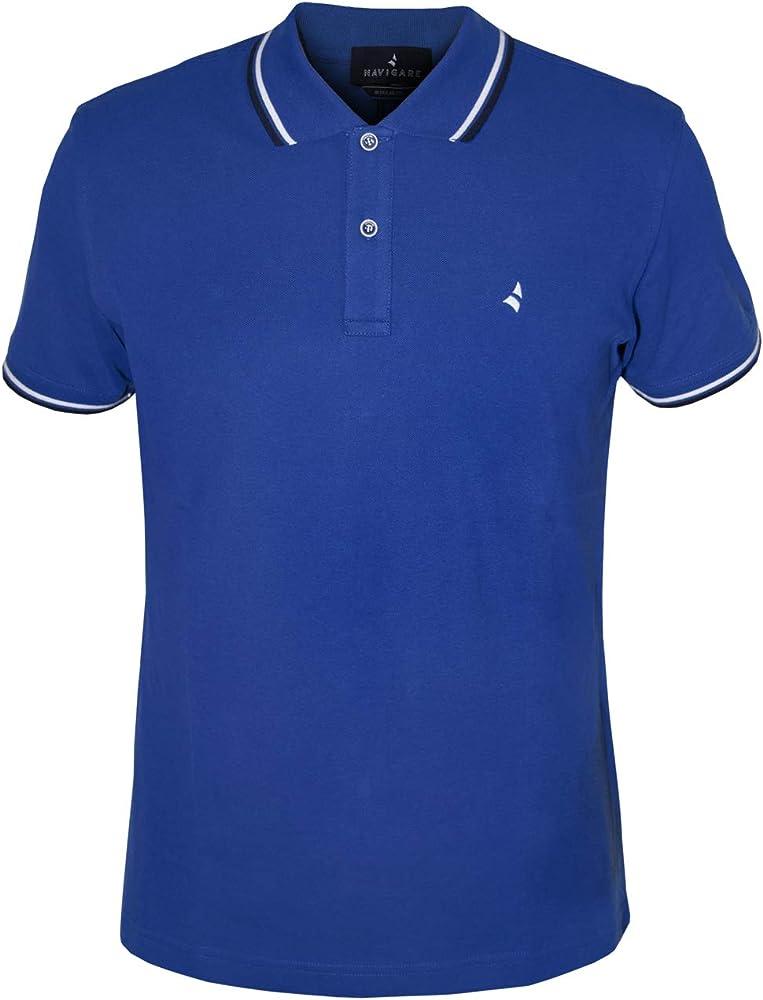 Navigare polo maglietta a maniche corte da uomo 100% cotone PoloNav82110_3_1