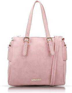 Caprese Women's EVA Small Soft Pink Tote