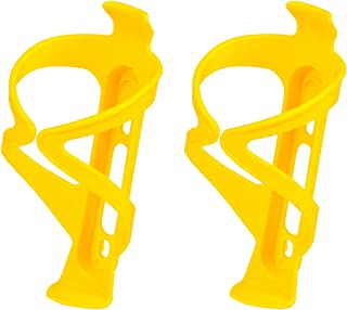 NEW Tacx Deva Bottle Cage Polyamide Bicycle Bike Water Fluo Yellow w// Black