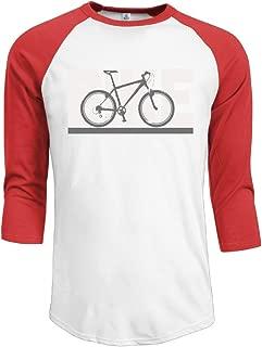 Gooshirt Mountain Bike Cycling Racing Men's Baseball 3/4 Sleeve T-Shirt