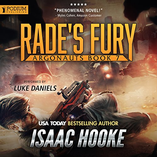 Rade's Fury audiobook cover art