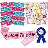 Party Props - Baby Shower marathi party photo booth props kit includes photo booth props with wooden dowel sticks and adhesives for assembly. Easy assembly: simply attach the printed diy photo booth props to the wooden dowels with included adhesive a...