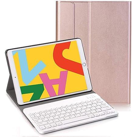 RLTech Teclado Funda para iPad 10.2 Pulgada 2020/2019, QWERTY ...