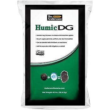 The Andersons Organic Humic DG Granular Soil Conditioner (Humic Acid), 40lbs Bag