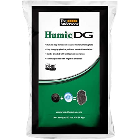 The Andersons Humic DG Organic Soil Amendment - Covers up to 20,000 sq ft (40 lb)