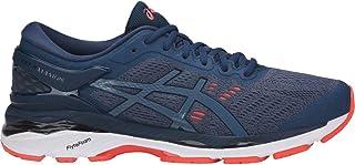 ASICS GelKayano 24 Shoe Mens Running 7.5 Smoke Blue-Dark...