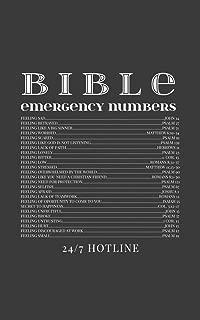 emergency bible verses numbers