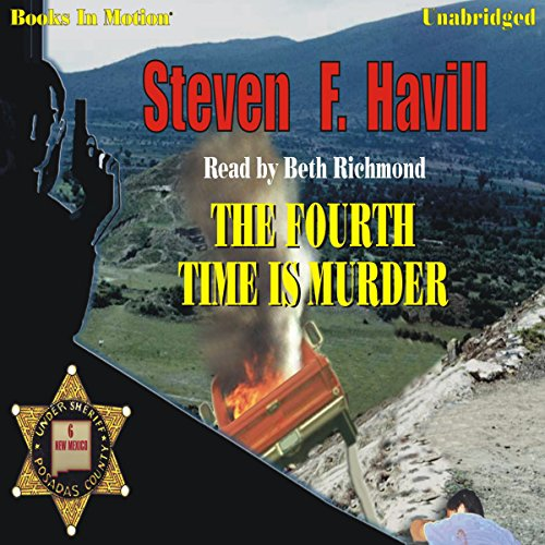 The Fourth Time Is Murder audiobook cover art